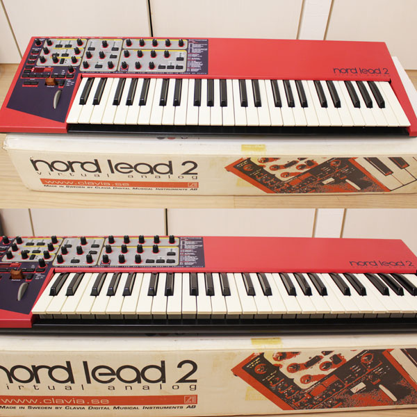CLAVIA NORD LEAD 2 クラビア ノード リード  シンセサイザー 49鍵盤 中古1