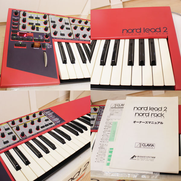 CLAVIA NORD LEAD 2 クラビア ノード リード  シンセサイザー 49鍵盤 中古2