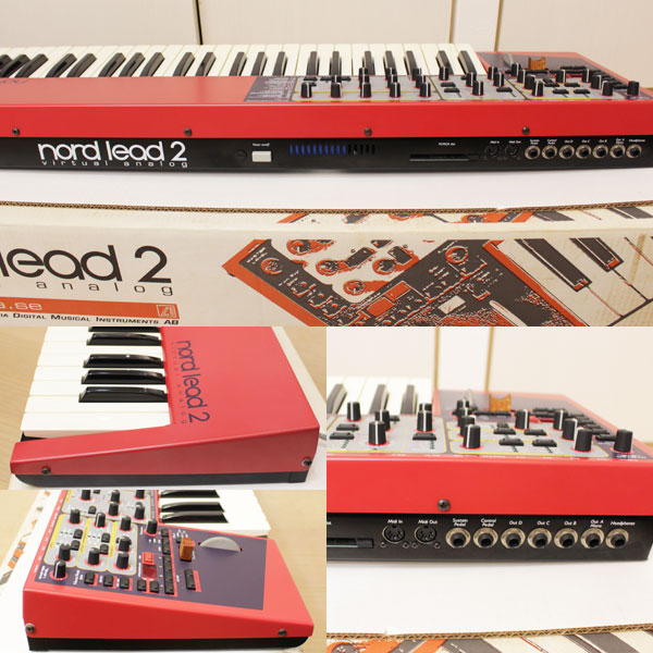 CLAVIA NORD LEAD 2 クラビア ノード リード  シンセサイザー 49鍵盤 中古3